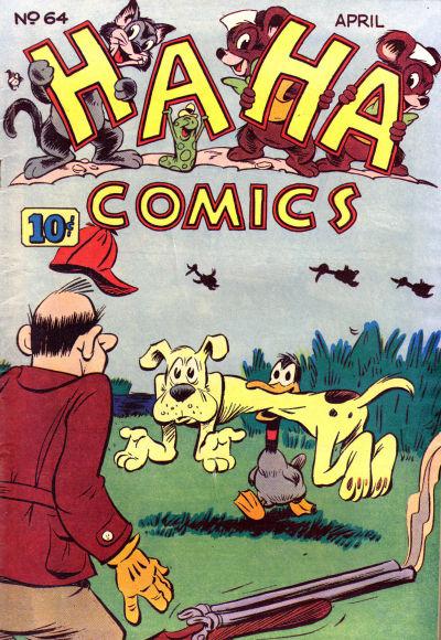 Cover for Ha Ha Comics (American Comics Group, 1943 series) #64
