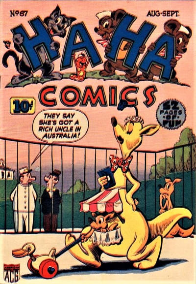 Cover for Ha Ha Comics (American Comics Group, 1943 series) #67