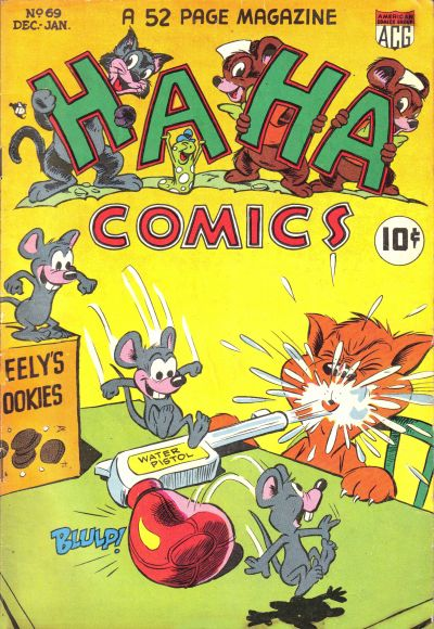 Cover for Ha Ha Comics (American Comics Group, 1943 series) #69