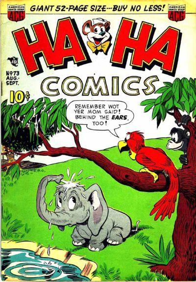 Cover for Ha Ha Comics (American Comics Group, 1943 series) #73
