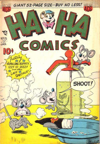 Cover for Ha Ha Comics (American Comics Group, 1943 series) #75