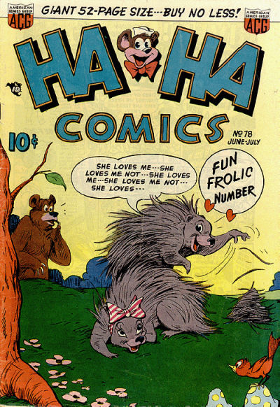 Cover for Ha Ha Comics (American Comics Group, 1943 series) #78