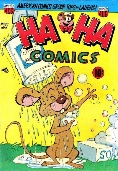 Cover for Ha Ha Comics (American Comics Group, 1943 series) #83