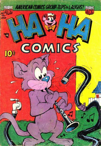 Cover for Ha Ha Comics (American Comics Group, 1943 series) #84
