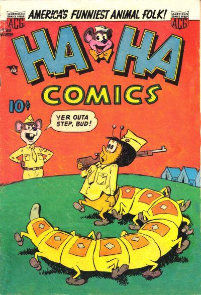 Cover for Ha Ha Comics (American Comics Group, 1943 series) #88