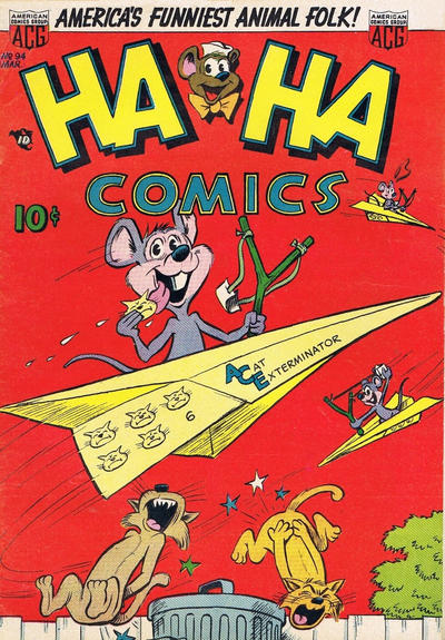 Cover for Ha Ha Comics (American Comics Group, 1943 series) #94
