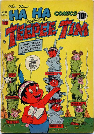 Cover for Ha Ha Comics (American Comics Group, 1943 series) #97