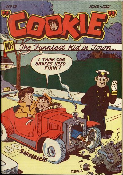 Cover for Cookie (American Comics Group, 1946 series) #13