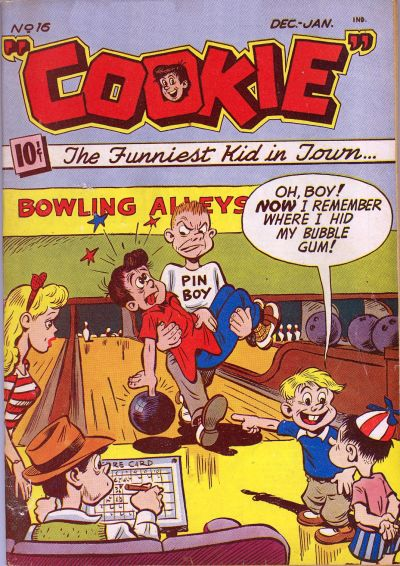 Cover for Cookie (American Comics Group, 1946 series) #16