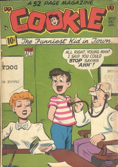 Cover for Cookie (American Comics Group, 1946 series) #22