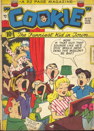 Cover for Cookie (American Comics Group, 1946 series) #23
