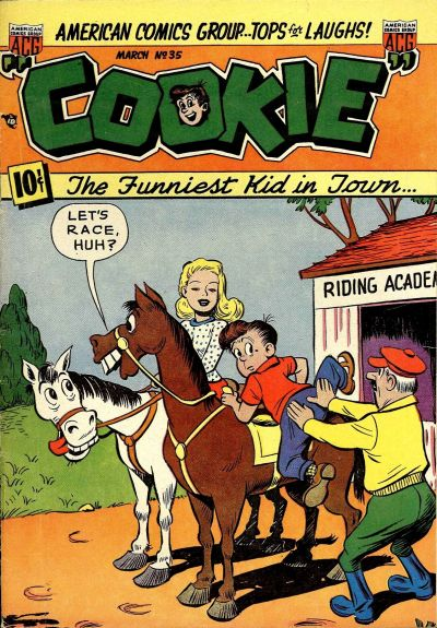Cover for Cookie (American Comics Group, 1946 series) #35