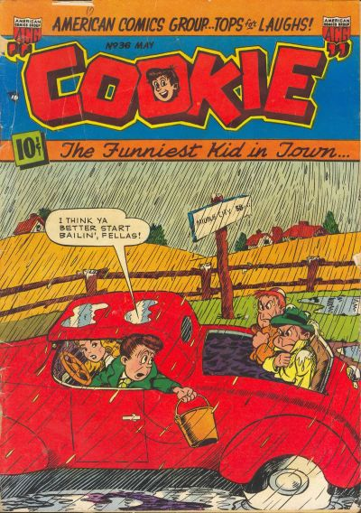 Cover for Cookie (American Comics Group, 1946 series) #36
