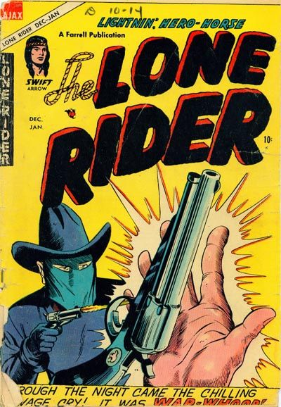 Cover for The Lone Rider (Farrell, 1951 series) #23