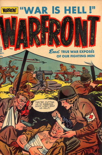 Cover for Warfront (Harvey, 1951 series) #2