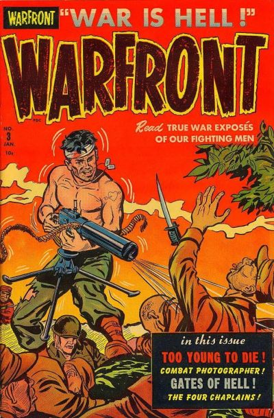 Cover for Warfront (Harvey, 1951 series) #3