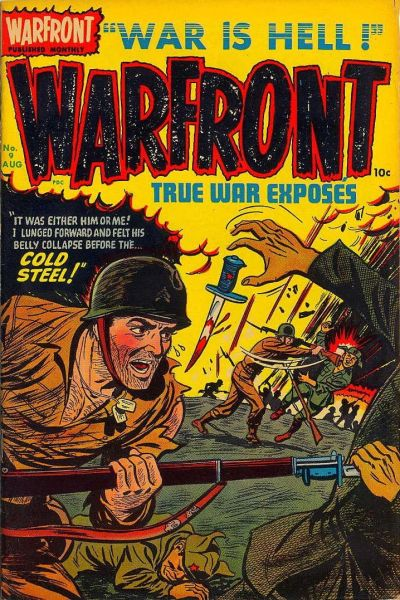 Cover for Warfront (Harvey, 1951 series) #9