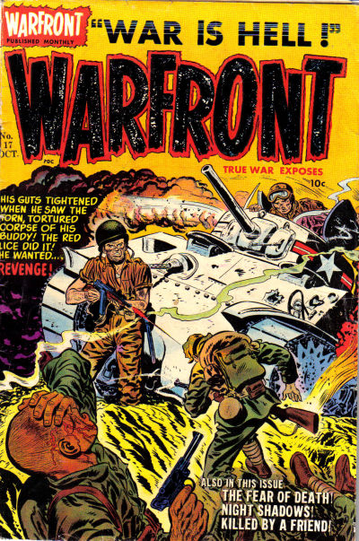 Cover for Warfront (Harvey, 1951 series) #17