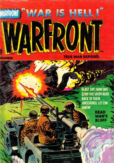 Cover for Warfront (Harvey, 1951 series) #18