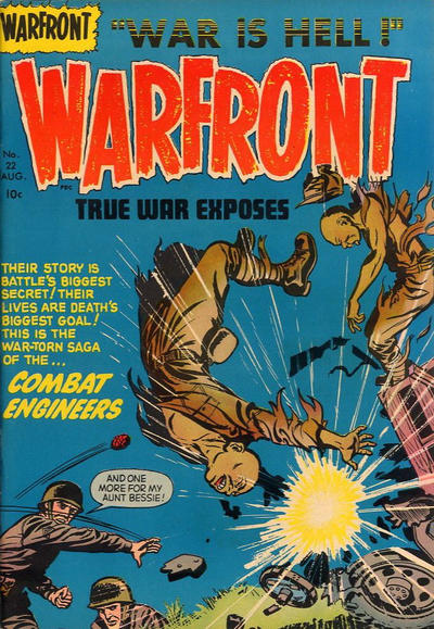 Cover for Warfront (Harvey, 1951 series) #22