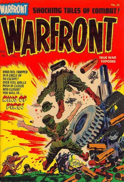 Cover for Warfront (Harvey, 1951 series) #24