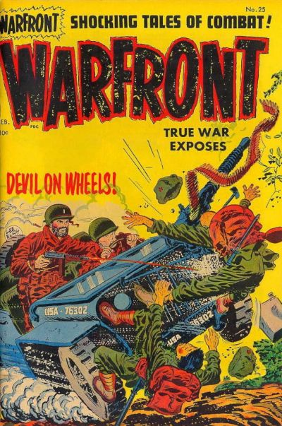 Cover for Warfront (Harvey, 1951 series) #25