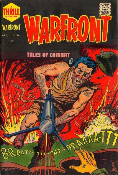 Cover for Warfront (Harvey, 1951 series) #26