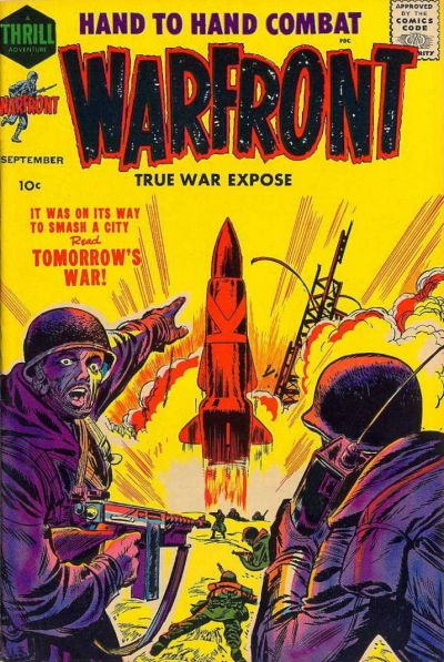 Cover for Warfront (Harvey, 1951 series) #34