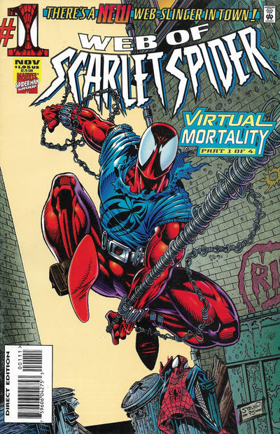 Cover for Web of Scarlet Spider (Marvel, 1995 series) #1