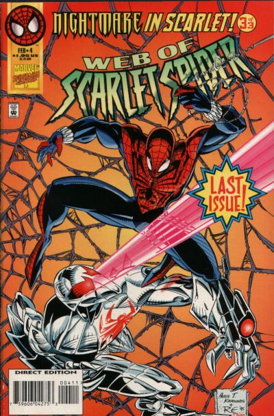 Cover for Web of Scarlet Spider (Marvel, 1995 series) #4
