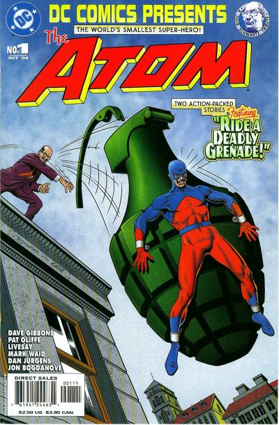 Cover for DC Comics Presents: The Atom (DC, 2004 series) #1