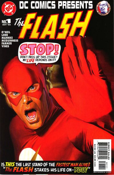 Cover for DC Comics Presents: Flash (DC, 2004 series) #1