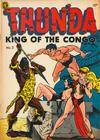 Cover for Thun'da, King of the Congo (Magazine Enterprises, 1952 series) #2