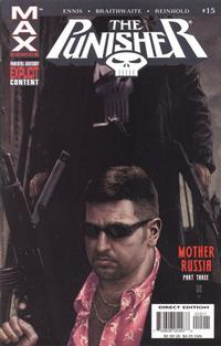 Cover for Punisher (Marvel, 2004 series) #15