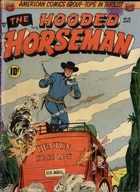 Cover Thumbnail for The Hooded Horseman (American Comics Group, 1952 series) #23