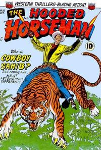 Cover Thumbnail for The Hooded Horseman (American Comics Group, 1952 series) #25