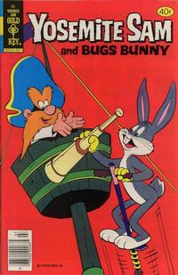 Cover Thumbnail for Yosemite Sam (Western, 1970 series) #61 [Gold Key]