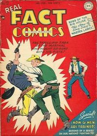 Cover Thumbnail for Real Fact Comics (DC, 1946 series) #12