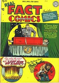 Cover Thumbnail for Real Fact Comics (DC, 1946 series) #15