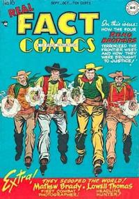 Cover Thumbnail for Real Fact Comics (DC, 1946 series) #16