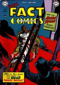Cover Thumbnail for Real Fact Comics (DC, 1946 series) #20