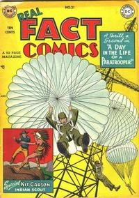 Cover Thumbnail for Real Fact Comics (DC, 1946 series) #21