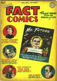 Cover Thumbnail for Real Fact Comics (DC, 1946 series) #3