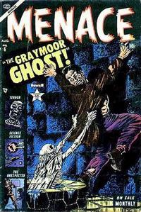 Cover for Menace (Marvel, 1953 series) #6