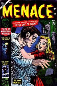 Cover Thumbnail for Menace (Marvel, 1953 series) #7