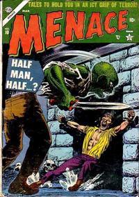 Cover Thumbnail for Menace (Marvel, 1953 series) #10