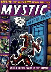 Cover Thumbnail for Mystic (Marvel, 1951 series) #7