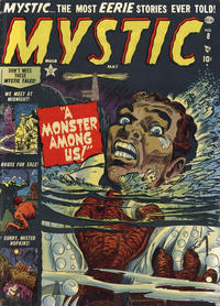 Cover Thumbnail for Mystic (Marvel, 1951 series) #8