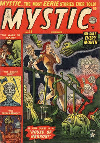 Cover Thumbnail for Mystic (Marvel, 1951 series) #15