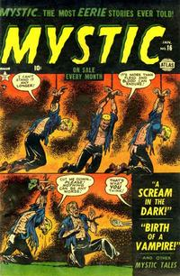 Cover Thumbnail for Mystic (Marvel, 1951 series) #16